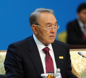 President of Kazakhstan Nursultan Nazarbayev will address the conference