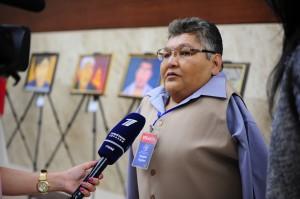 The ATOM Project Honorary Ambassador Karipbek Kuyukov