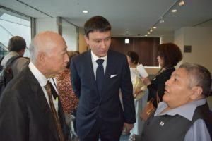 The ATOM Project Honourary Ambassador Kuyukov in Tokyo